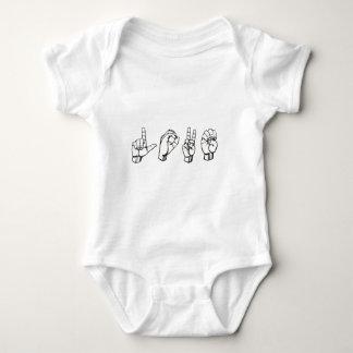 lenguaje de signos L, 431px-Sign_language_O.svg, Body Para Bebé