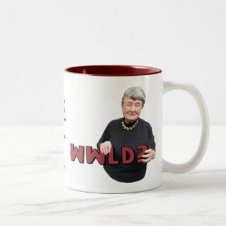 Leni Brand Wisdom - WWLD? Coffee Mugs
