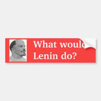 Lenin 2_dibujo_1901 wikimedia copy bumper sticker