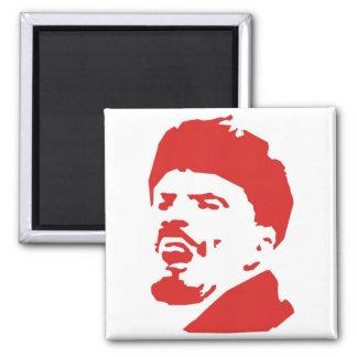 lenin 2 inch square magnet