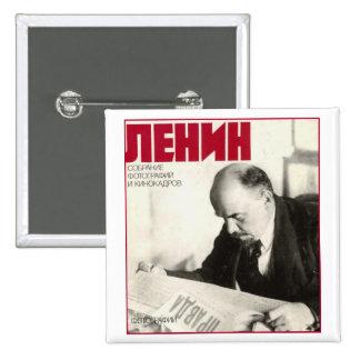 Lenin Pinback Buttons