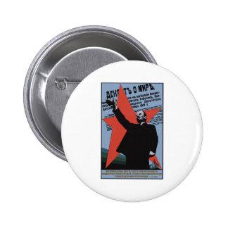 Lenin Pinback Button