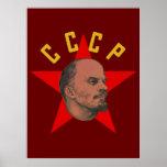 Lenin CCCP Poster
