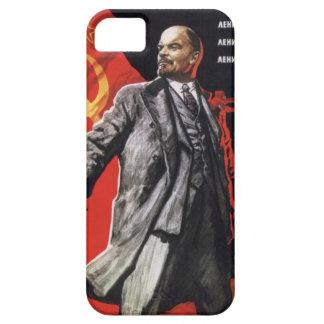 Lenin - comunista ruso iPhone 5 cárcasas