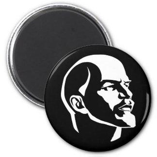 Lenin Head 2 Inch Round Magnet