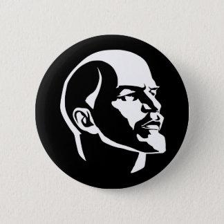 Lenin Head Pinback Button