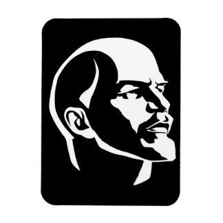 Lenin Head Rectangular Photo Magnet
