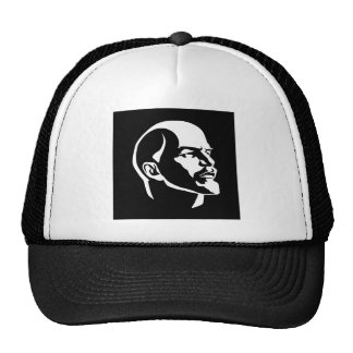 Lenin Head Trucker Hat