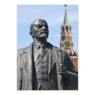 Lenin 5x7 Paper Invitation Card