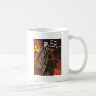 Lenin Lived Obama Lives Coffee Mug