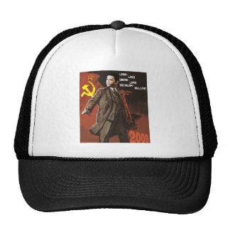 Lenin Lived Obama Lives Trucker Hat