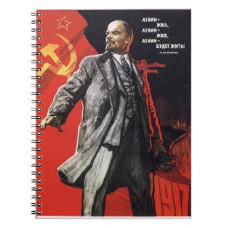 Lenin Lives Notebook