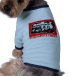 Lenin Marx Mao Zedong Dog T-shirt