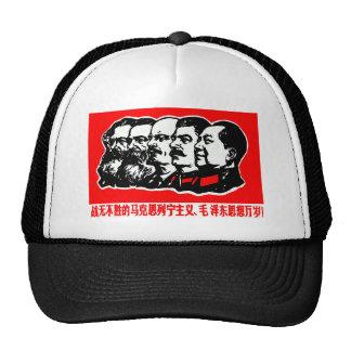Lenin Marx Mao Zedong Gorras De Camionero