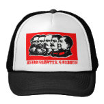 Lenin Marx Mao Zedong Hats