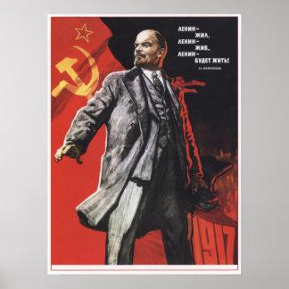 Lenin para siempre póster