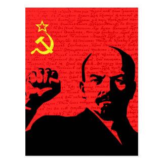Lenin Postcard