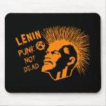 Lenin Punk Not Dead C Mouse Pad