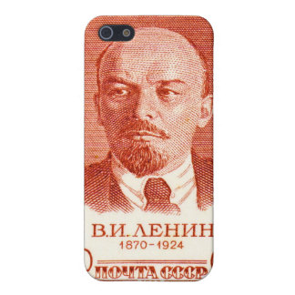 Lenin Red Cover For iPhone SE/5/5s