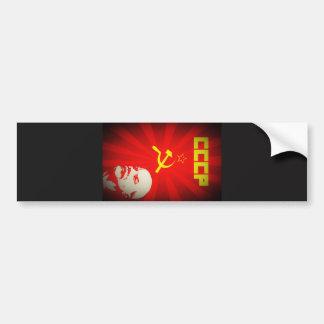 lenin russia soviet communist propaganda vintage f bumper sticker