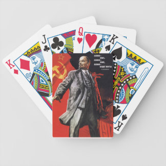 Lenin - Russian Communist Bicycle Playing Cards