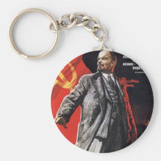 Lenin - Russian Communist Keychain