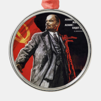 Lenin - Russian Communist Metal Ornament