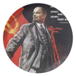 Lenin - Russian Communist Plate
