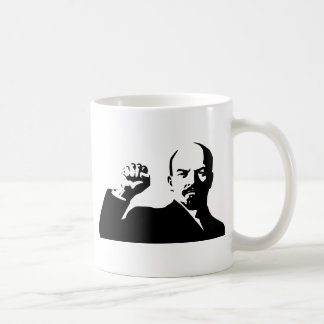 Lenin the fist in the airs coffee mug
