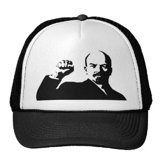Lenin the fist in the airs mesh hats
