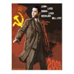 Lenin vivió las vidas de Obama Postales