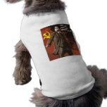 Lenin vivió las vidas de Obama Ropa Para Mascota