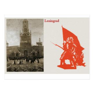 Leningrad, early Russian Postcard