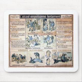 l'Ennemi #2 de L'Alcool Voila Alfombrillas De Raton