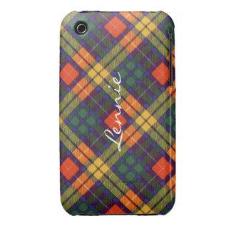 Lennie clan Plaid Scottish kilt tartan iPhone 3 Cover