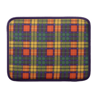 Lennie clan Plaid Scottish kilt tartan MacBook Air Sleeve