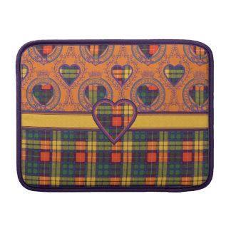 Lennie clan Plaid Scottish kilt tartan MacBook Sleeves