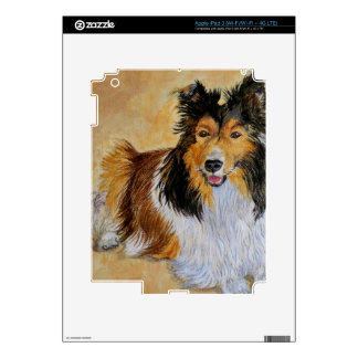 Lennie the Sheltie Decals For iPad 3