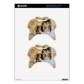 Lennie the Sheltie Xbox 360 Controller Decal