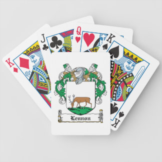 Lennon Family Crest Bicycle Playing Cards