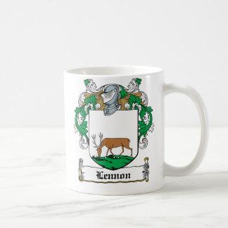 Lennon Family Crest Classic White Coffee Mug