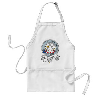 Lennox Clan Badge Adult Apron