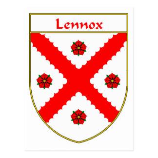 Lennox Coat of Arms/Family Crest Postcard