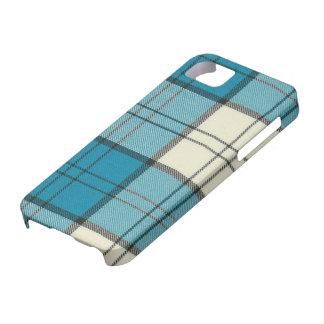 Lennox Dress Turquoise Tartan iPhone 5 Case-Mat iPhone SE/5/5s Case