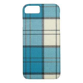 Lennox Dress Turquoise Tartan iPhone 7 case-Mat iPhone 8/7 Case