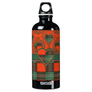 Lennox Scottish Tartan Aluminum Water Bottle