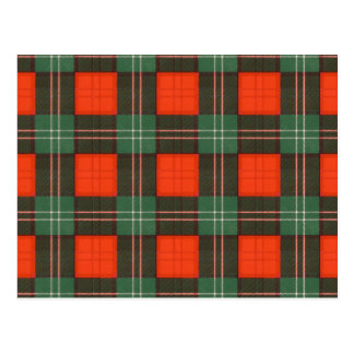 Lennox Scottish Tartan Postcard