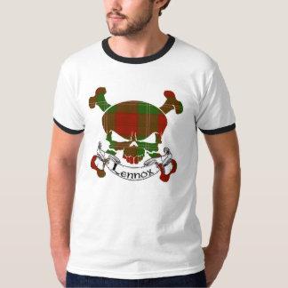Lennox Tartan Skull T-Shirt