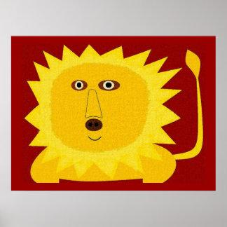 Lenny Lion Poster