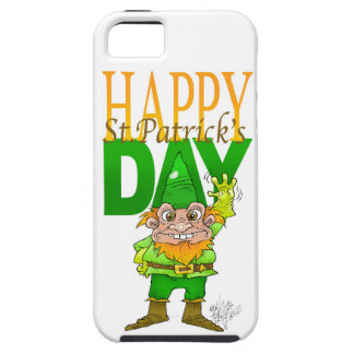 Lenny the Leprechaun illustration. iPhone SE/5/5s Case